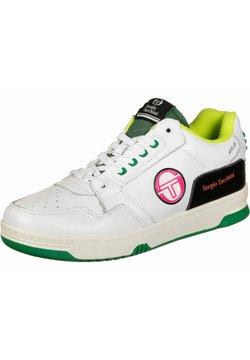 sergio tacchini - PRIME SHOT - Sneakers laag - white/green/black