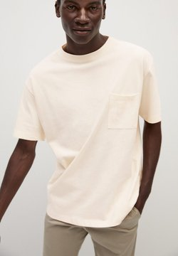 Mango - LAGO - T-Shirt basic - off white