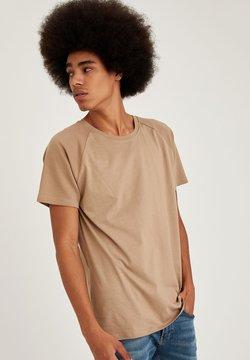 DeFacto - Camiseta básica - beige
