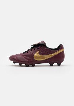 Nike Performance - PREMIER II FG - Moulded stud football boots - dark beetroot/metallic gold/black