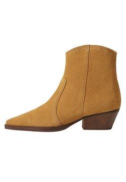 Mango - CRUCE - Ankle Boot - sandfarben