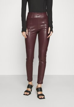 New Look - Leggings - Hosen - dark burgundy