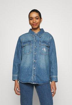 Calvin Klein Jeans - OVERSHIRT - Koszula - blue
