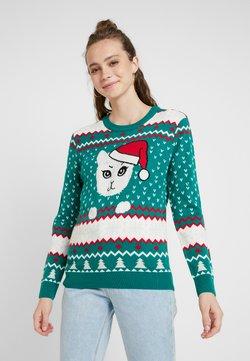 Urban Classics - LADIES CHRISTMAS - Jumper - x-masgreen