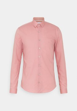Calvin Klein Tailored - POPLIN STRETCH EXTRA SLIM SHIRT - Businesshemd - blush