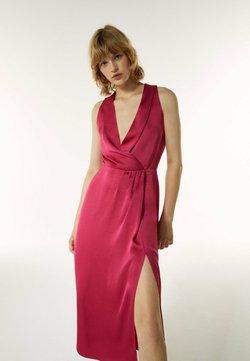 Uterqüe - Cocktailkleid/festliches Kleid - pink