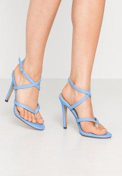 4th & Reckless - PENNY - High Heel Sandalette - blue