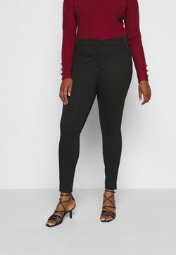 CAPSULE by Simply Be - SHAPE SCULPT SUPER STRETCH PONTE TREGGING - Pantalon classique - black