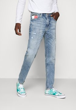 Tommy Jeans - REY RELAXED TAPERED - Jeans Relaxed Fit - philly light blue comfort dest
