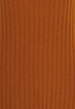 pure cashmere - TURTLENECK DRESS - Neulemekko - heather orange