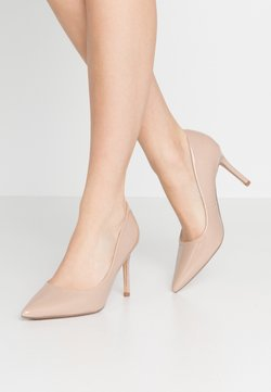 Dorothy Perkins Wide Fit - WIDE FIT DELE COURT - High Heel Pumps - nude
