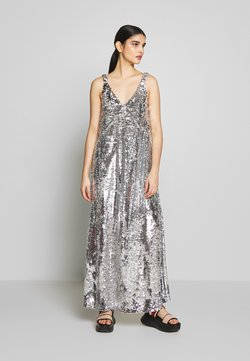 Mulberry - KELSEY DRESS - Abito da sera - silver