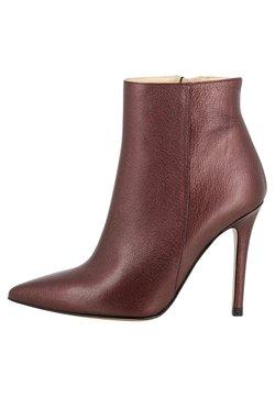 Evita - ALINA - High Heel Stiefelette - bordeaux