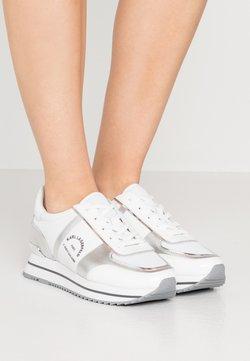 KARL LAGERFELD - VELOCITA MAISON LACE - Sneaker low - silver
