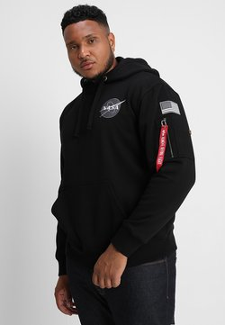 Alpha Industries - SPACE SHUTTLE HOODY - Sweat à capuche - black