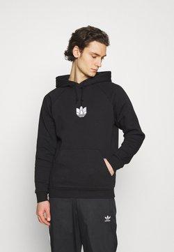 adidas Originals - TREFOIL HOOD UNISEX - Bluza - black