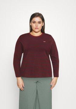 Levi's® Plus - LONG SLEEVE BABY TEE - Långärmad tröja - brown