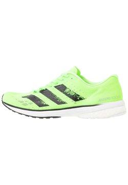 adidas Performance - ADIZERO ADIOS 5 - Laufschuh Neutral - signal green/core black/footwear white