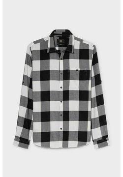 C&A - Hemd - gray / black