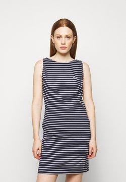 Barbour - DALMORE STRIPE DRESS - Jerseykleid - navy/white