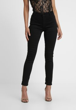 Missguided Petite - ANARCHY MID RISE - Jeans Skinny - black