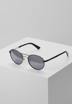 Diesel - DL02655217C - Sunglasses - matte gunmetal/ green