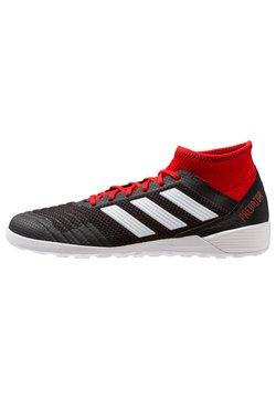 adidas Performance - PREDATOR TANGO 18.3 IN - Fußballschuh Halle - core black/footwear white/red