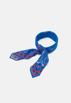 Mennace - PAISLEY PRINT BANDANA UNISEX - Chusta - blue
