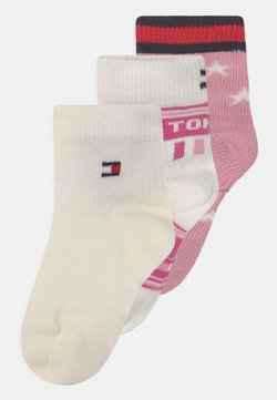 Tommy Hilfiger - STARS AND STRIPES GIFTBOX 3 PACK UNISEX - Calcetines - pink