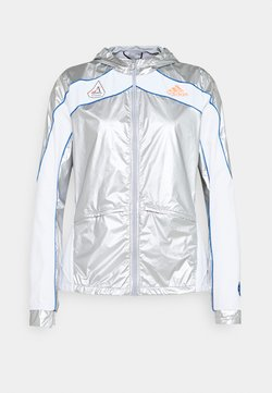 adidas Performance - SPACE - Laufjacke - silver/white