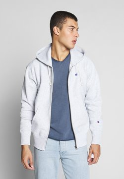 Champion Reverse Weave - HOODED FULL ZIP  - Hoodie met rits - light grey