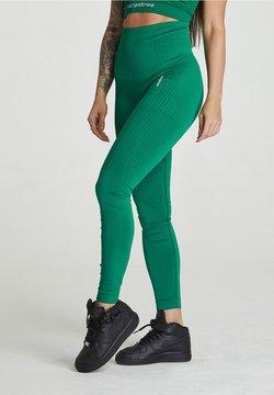 carpatree - SEAMLESS LEGGINGS MODEL ONE - Tights - green