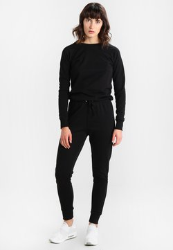 New Look - CREW NECK - Combinaison - black