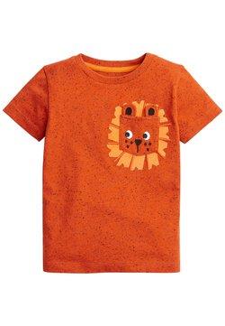 Next - T-Shirt print - orange