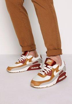 Nike Sportswear - AIR MAX 90 - Matalavartiset tennarit - rugged orange/sail/wheat/light brown