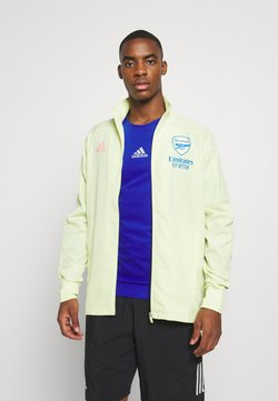 adidas Performance - ARSENAL FC SPORTS FOOTBALL TRACKSUIT JACKET - Klubtrøjer - yellow tint