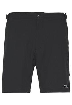 CMP - MAN FREE BIKE BERMUDA WITH INNER UNDERWEAR - kurze Sporthose - nero