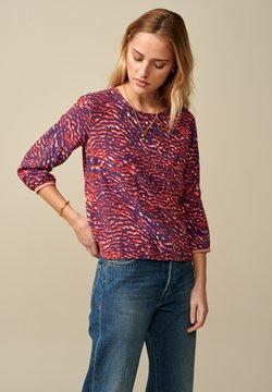 Bellerose - SOLONG - Bluse - lila bunt gemustert