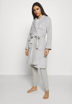 Lauren Ralph Lauren - SHORT ROBE - Dressing gown - grey