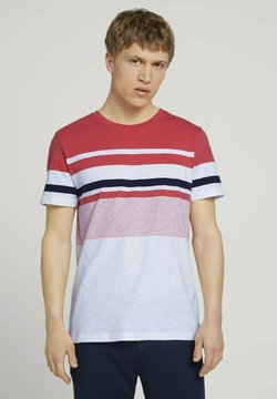 TOM TAILOR DENIM - T-Shirt print - normal red