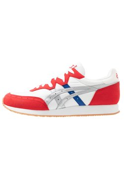 ASICS - TARTHER - Sneaker low - white/classic red