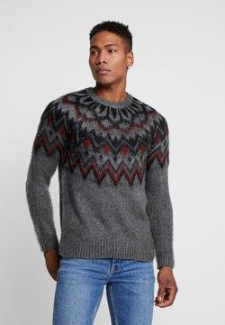 Topman - NORDIC CREW - Pullover - grey