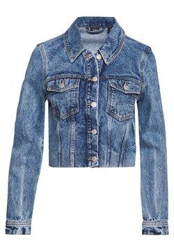 Vero Moda - VMMIKKY CROPPED JACKET  - Veste en jean - light blue denim