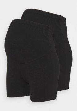 Anna Field MAMA - Shorts - black / black