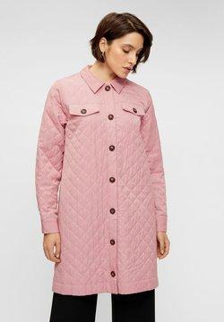 YAS - YASSCHEANA - Vestido camisero - dusty pink