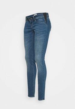 MAMALICIOUS - MLESSEX  - Jeans slim fit - medium blue denim