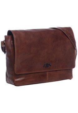 SID & VAIN - Notebooktasche - braun-cognac