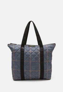DAY ET - GWENETH CHECKY BAG - Shopping bag - blue fog