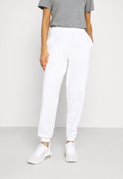 New Look - CUFFED JOGGER - Jogginghose - white