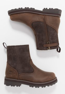 Timberland - COURMA WARM LINED BOOT  - Korte laarzen - dark brown